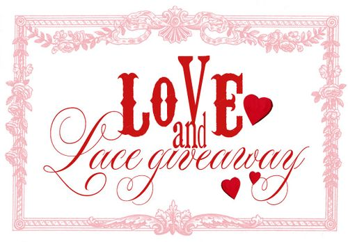 Cassandra VanCuren's Love and Lace Giveaway!